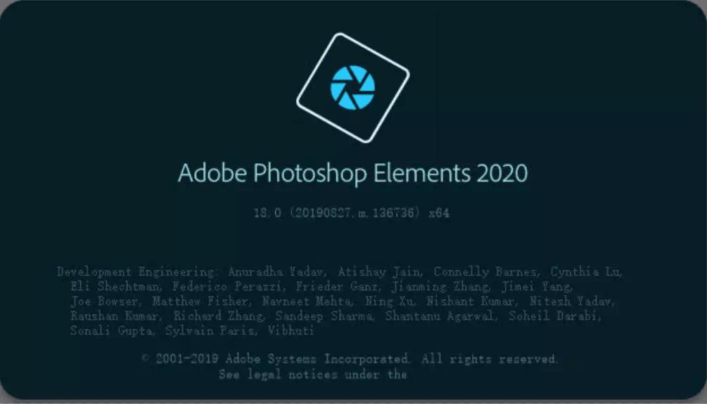 Photoshop Elements 2020 v18.0 新推出的图片处理软件