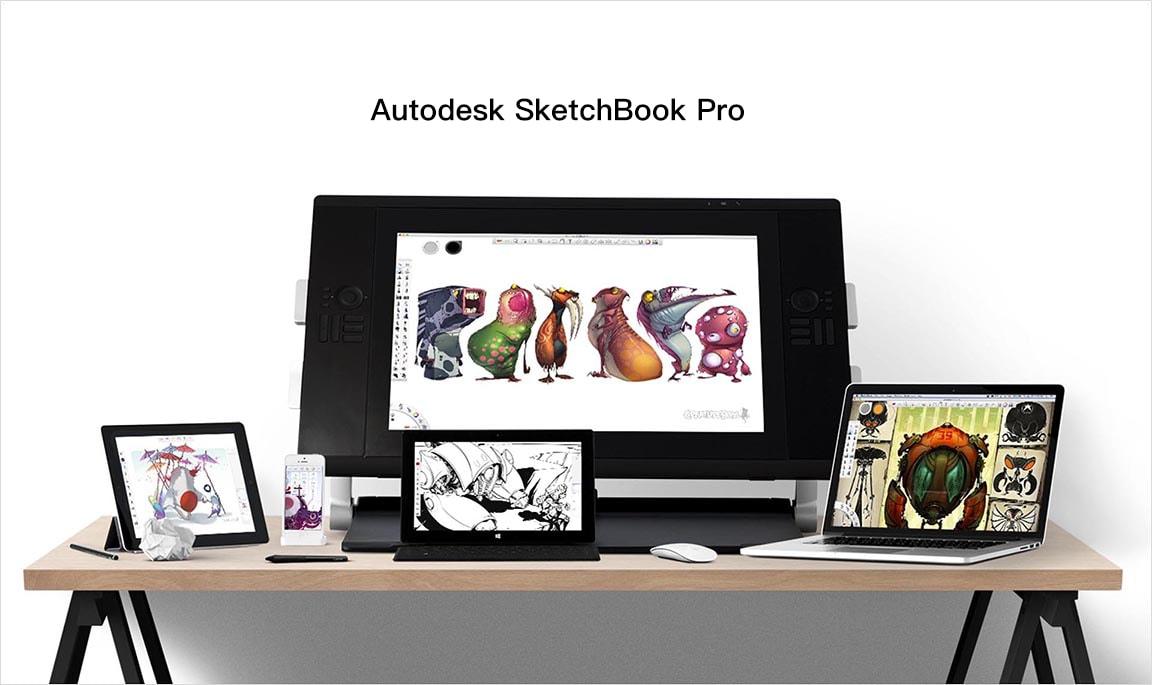 SketchBook Pro 2018 Mac 上专业的绘图软件 已彻底免费